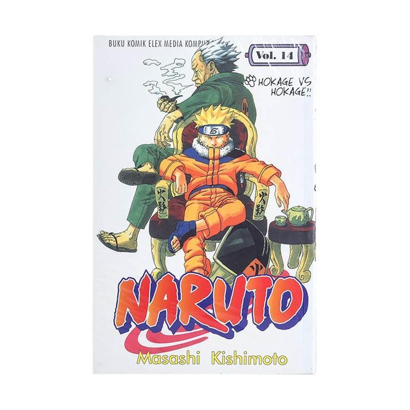harga Elex Media Komputindo Naruto 14 200019317 by Masashi Kishimoto Buku Komik Blibli.com