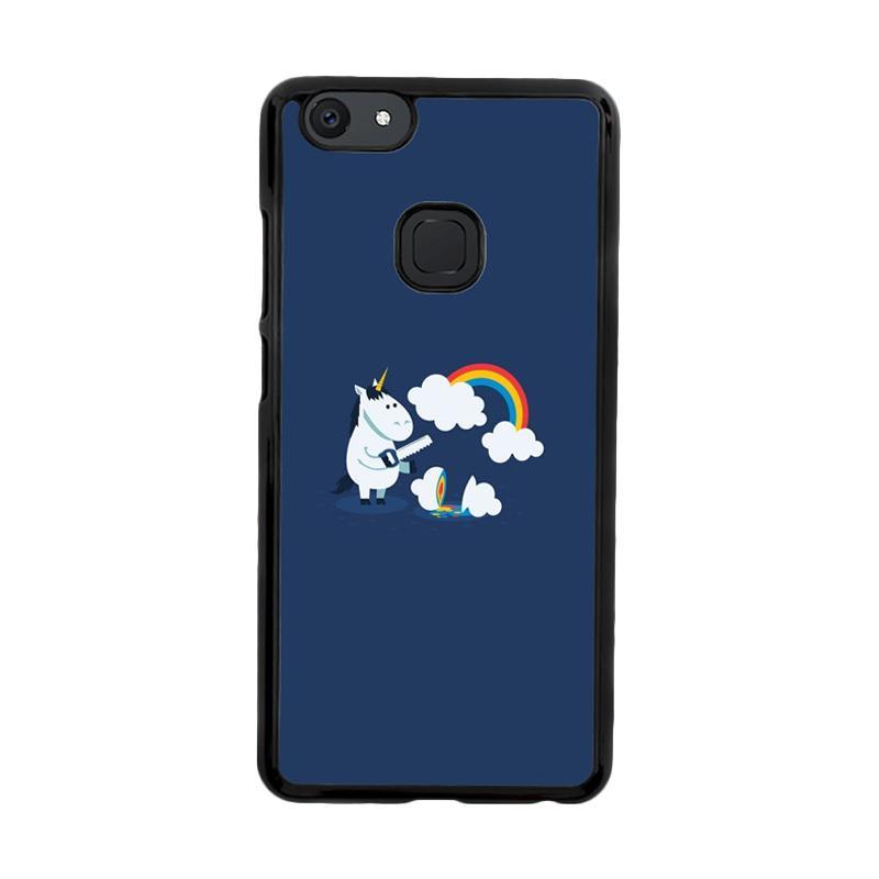 Flazzstore Unicorn Rainbow O0009 Custom Casing for Vivo V7