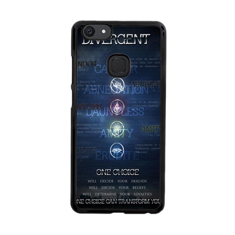Flazzstore Divergent Faction Symbols Z0694 Custom Casing for Vivo V