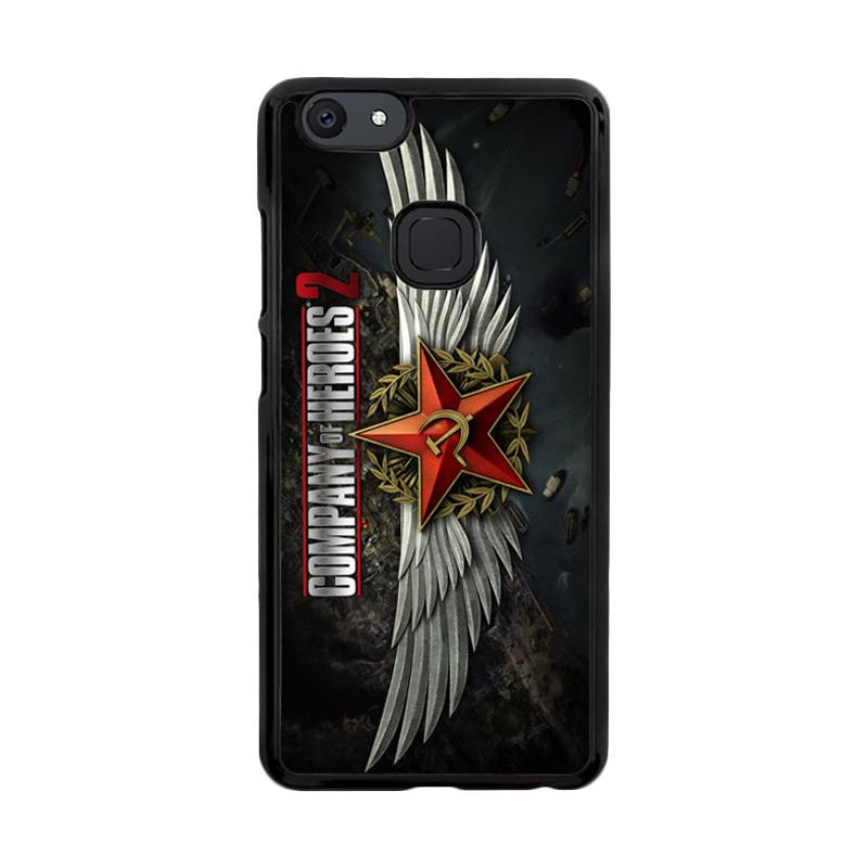 Flazzstore Company Of Heroes Video Game Z1027 Custom Casing for Vivo V7