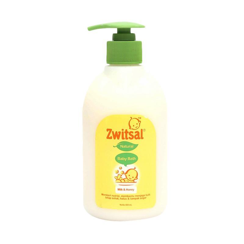 harga Zwitsal Baby Bath Milk & Honey Sabun Bayi [300 mL] Blibli.com