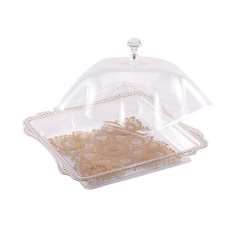 K.GOLD Square Cake Serving Tray