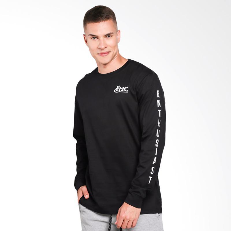 FMC 0612 Tshirt Pria - Black