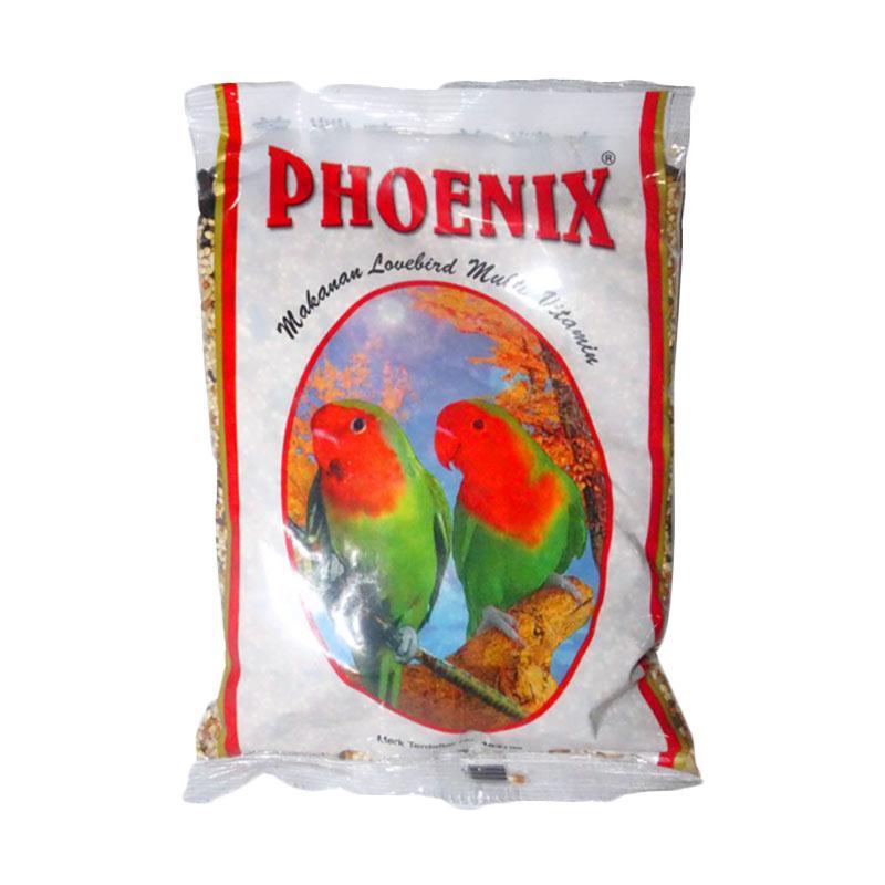 Phoenix Lovebird Kenari Biji Matahari Pakan Burung