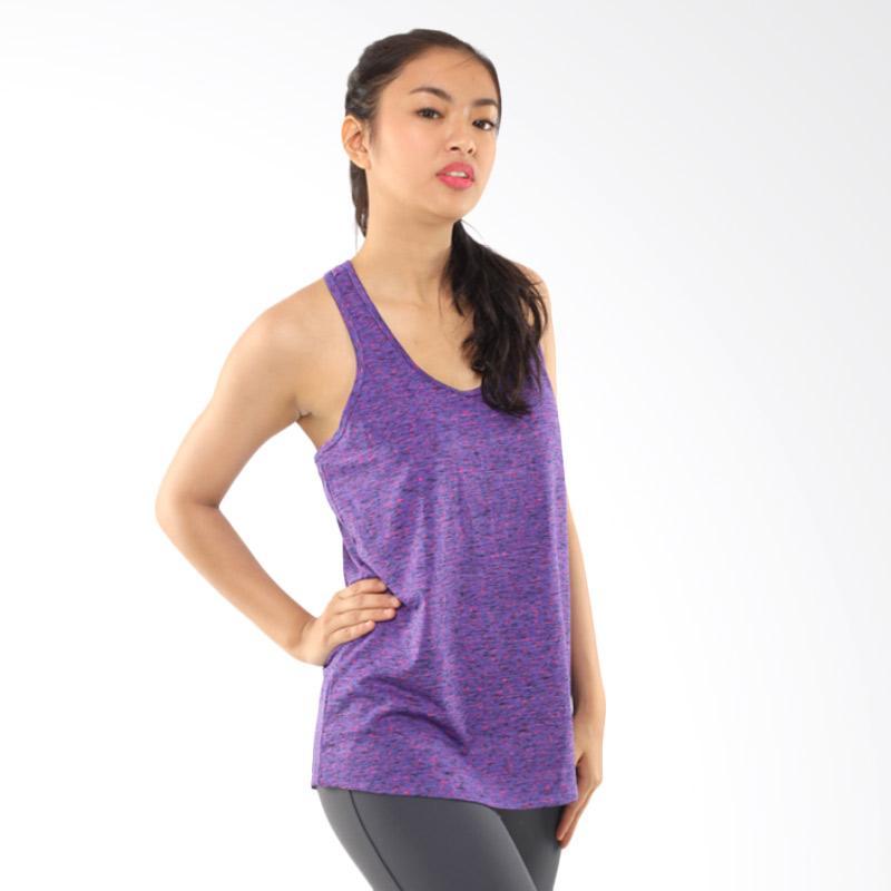 Active & Co II Strap Back Baju Olahraga Wanita - Misty Lavender [ATK0031]