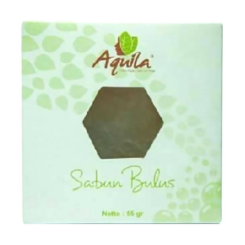 Aquila Sabun Bulus Batang Sabun Pengencang Payudara dan Pembersih Jerawat [50 g/ Original]