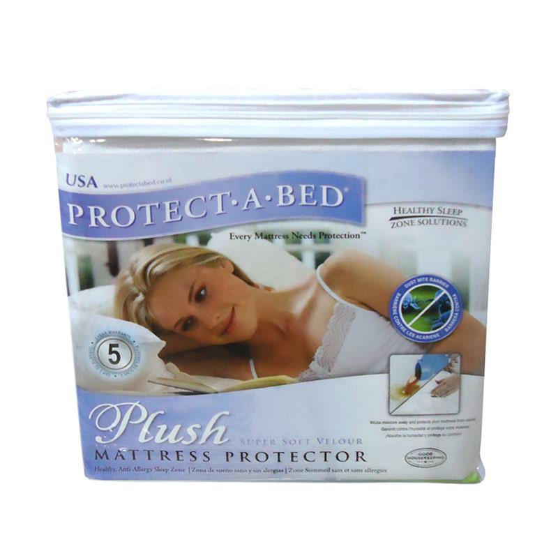 SLEEP CENTER Protect A Bed Sleep Center Plush Mattress Protector Disc 50%