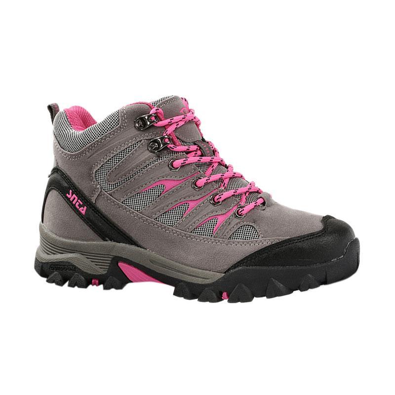 Snta Outdoor Sepatu Gunung Wanita - Grey Fuschia [605]