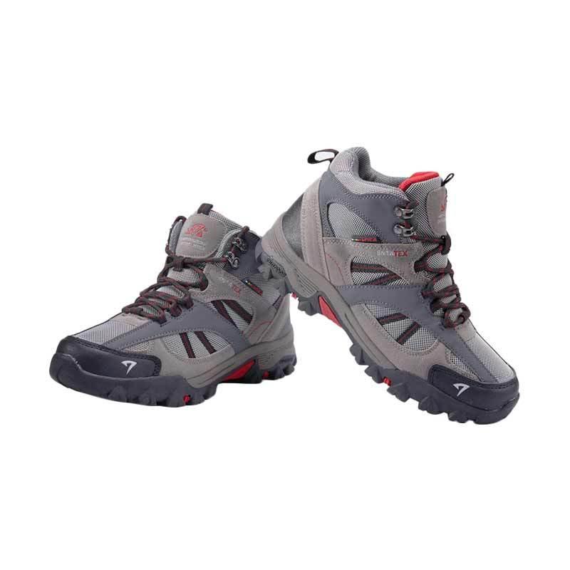 Snta Sepatu Gunung Unisex - Grey Red [481]