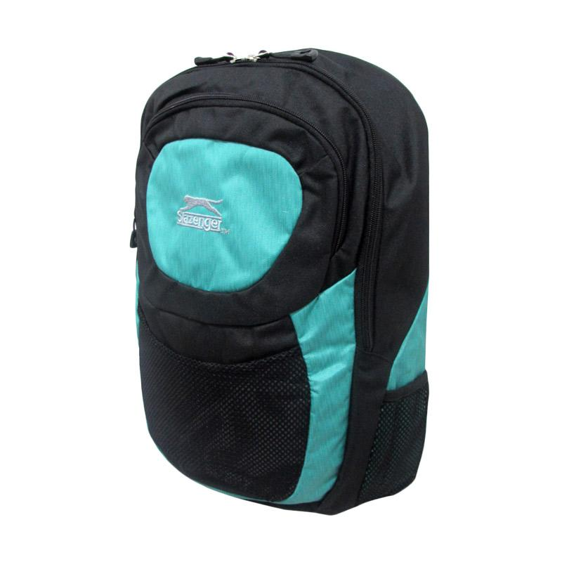 Slazenger Backpack Tas Ransel - Turqoise [3986] + Free Rain Cover