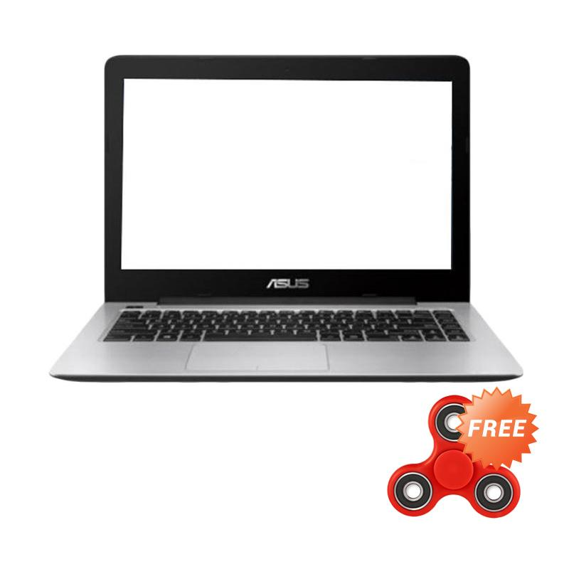 ASUS A442UR-GA030 Notebook - Dark Grey [i7-7500U/4GB/1TB/GT930MX-2GB/14