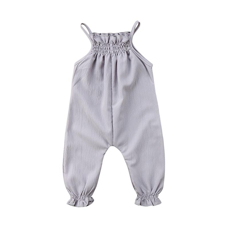 Abby Baby Jumpsuit Anak - Grey
