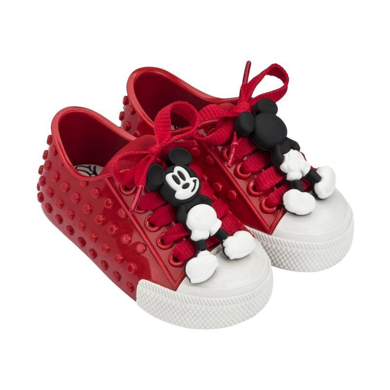 Mini Melissa Polibolha Disney Sepatu Anak - Red