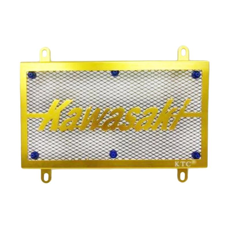 harga KTC Stainless Steel Tutup Radiator for Kawasaki Ninja 250 Carbu - Gold [TRD4021-Gold] Blibli.com