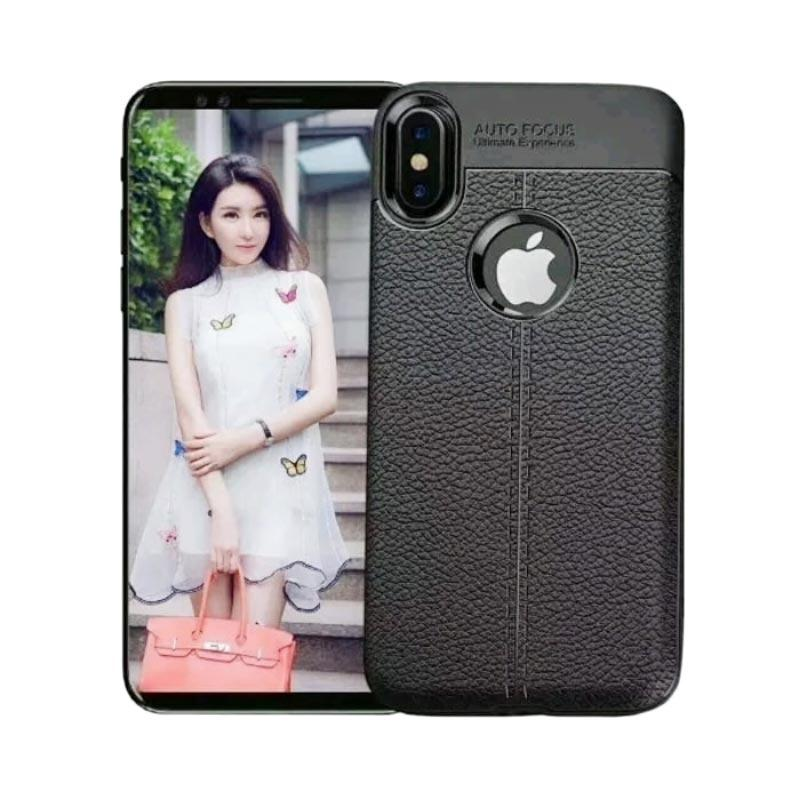 Auto Focus Silikon Jelly TPU Softcase Casing for iPhone X