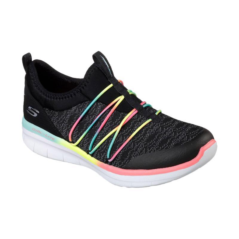 Skechers Sport Syngergy Lifestyle W Sepatu Olahraga Wanita [12379BKMT]