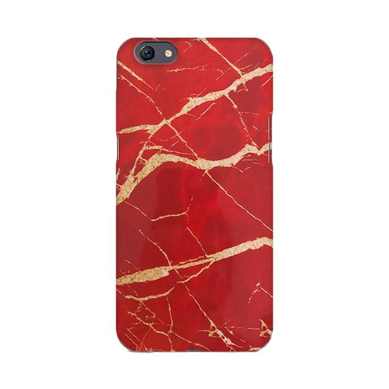 harga Premiumcaseid Red Marble Granite Stone Hardcase Casing for Oppo F3 Blibli.com