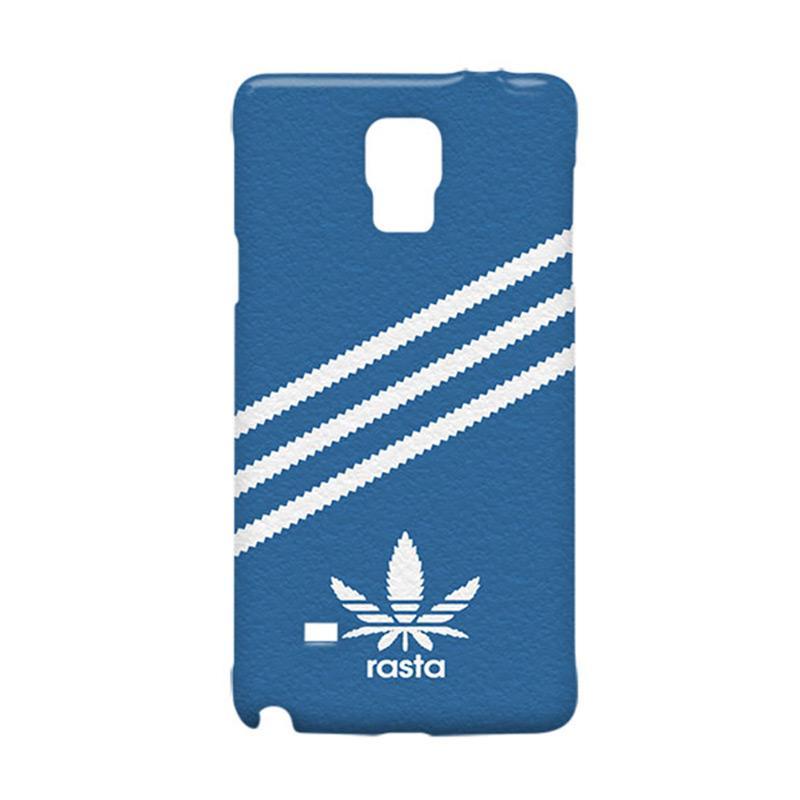 harga Premiumcaseid Blue Rasta Not Adidas Line Hardcase Casing for Samsung Galaxy Note 4 Blibli.com