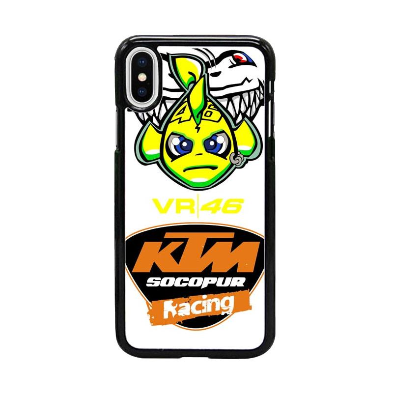 Acc Hp Valentino Rossi ktmW5022 Custom Casing for iPhone X