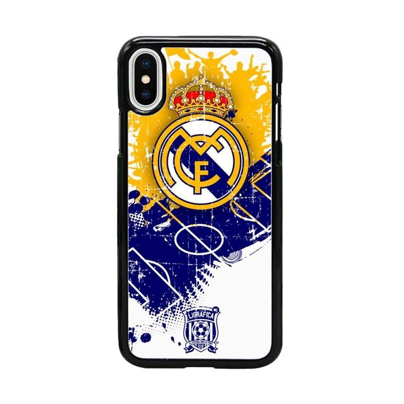 Acc Hp Real Madrid CF W4938 Custom Casing for iPhone X