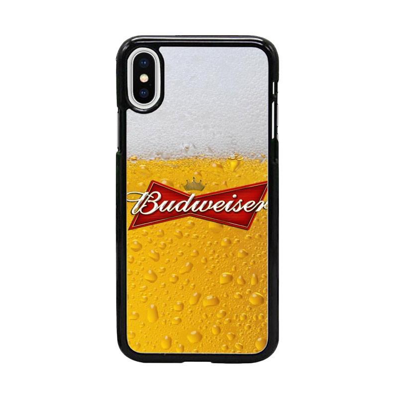Acc Hp Brand Budweiser W4914 Custom Casing for iPhone X