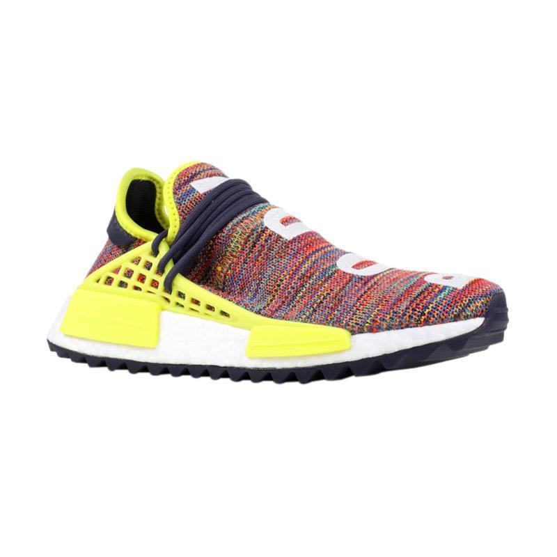 0ef1957d92a40 adidas Originals Men NMD Pharrell Williams Human Race Sepatu Sneakers Pria  - Multicolor  AC7360  harga ...