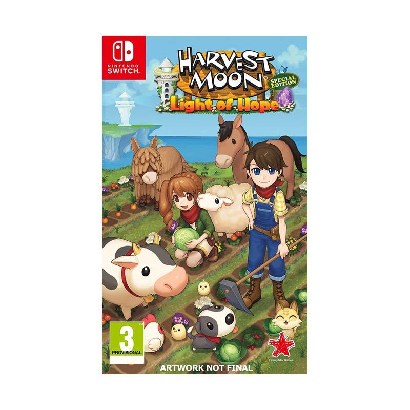 Nintendo Switch Harvest Moon Light of Hope DVD Game