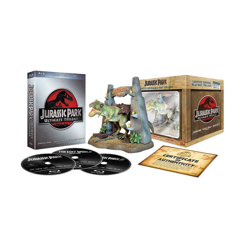 harga Bluray Jurassic Park Ultimate Trilogy Limited Figure DVD Movie Blibli.com