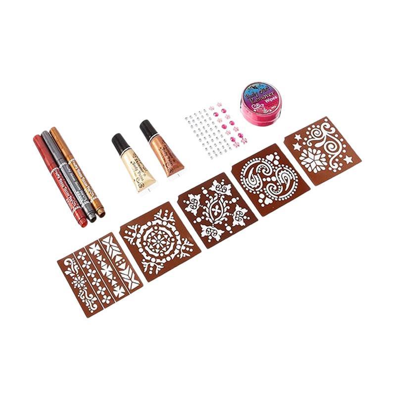 Jual Hot Focus Body Art Set Henna Online Harga Kualitas Terjamin