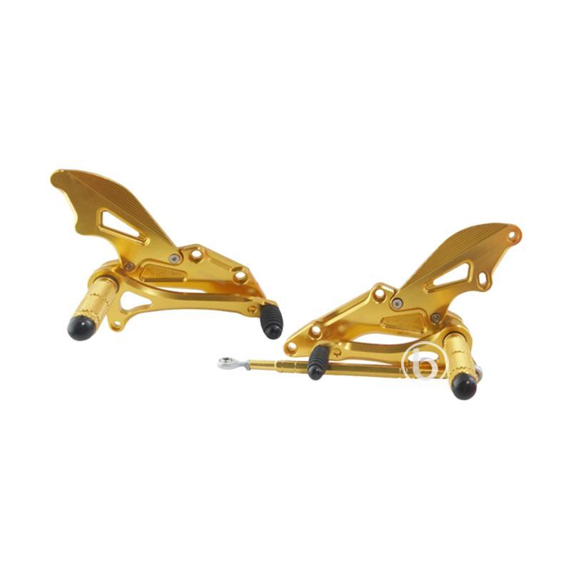 harga Agras Footstep Depan Undebone Racing for Suzuki Satria FU 150 - Gold Blibli.com