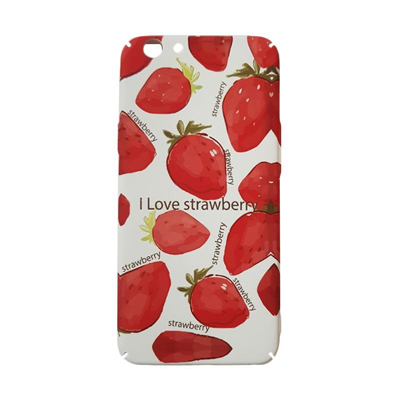 harga OEM Marcell Strawberry Casing for OPPO F1S Blibli.com