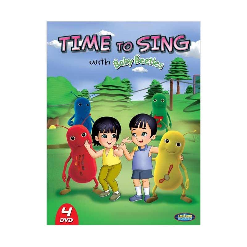 harga BEST PRICE - Emperor DVD Time to Sing with Baby Beetles Blibli.com