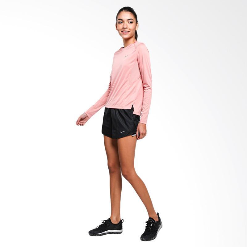 NIKE Women Running Miller Top Kaos Olahraga Wanita Pink 905128 685