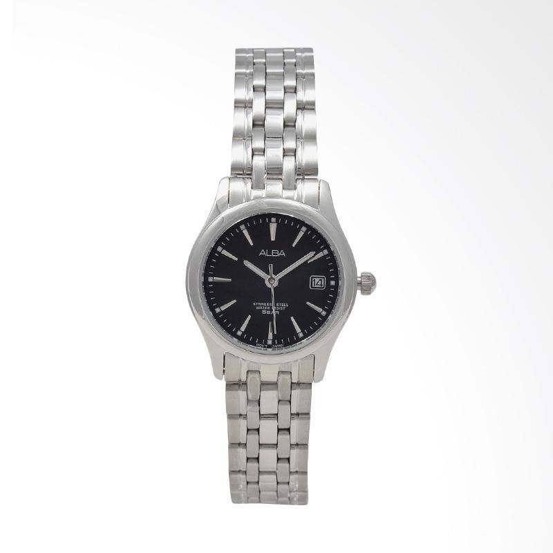 Jual Alba AXT859 Stainless Steel Jam Tangan Wanita - Silver Black Online -  Harga   Kualitas Terjamin  0a0e0a399d