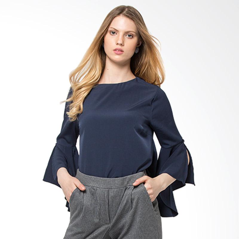 The Executive 5 Blwkey118D045 Blouse Wanita Navy