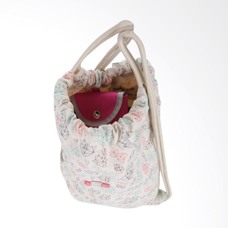 Exsport Chills Drawstring Bag - Cream. Brand: Exsport · 1 ulasan. Rp 175,000