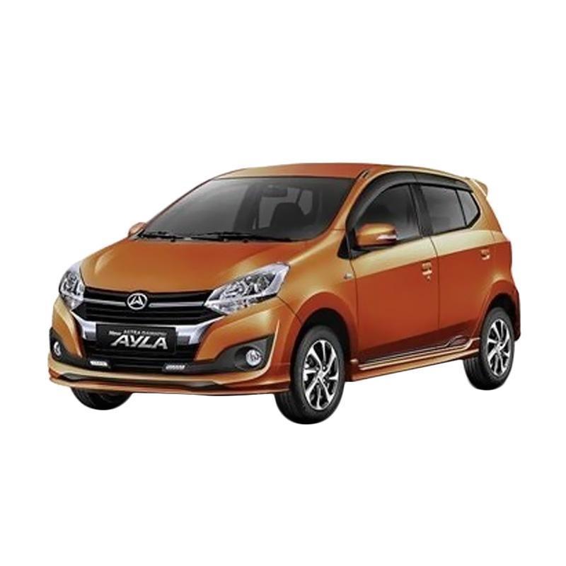 Daihatsu New Ayla 1.2 X Mobil [Uang Muka Kredit Bidbox] 60 A/T Black Metallic JADETABEK