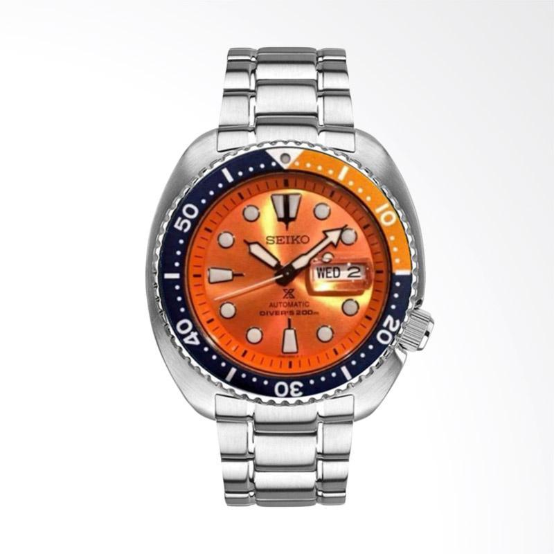 Seiko Prospex Turtle Limited Edition Automatic Divers Jam Tangan Pria -  Orange [SRPC95K1]