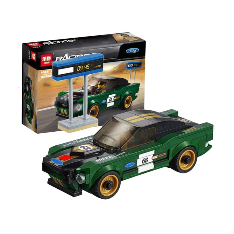 Ford Mustang Fastback >> Lepin 28014 Ford Mustang Fastback Blocks Stacking Toys