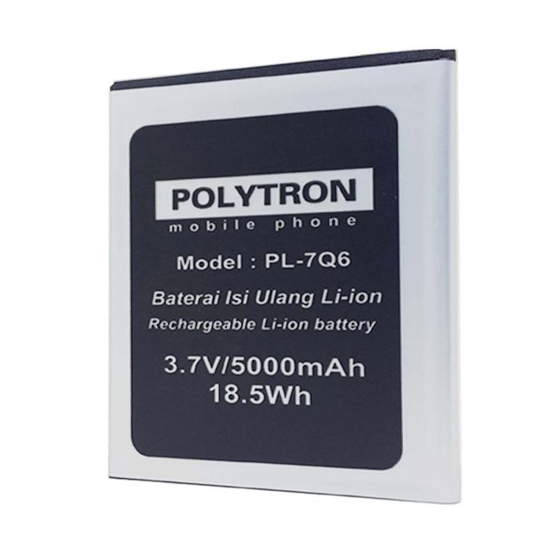 Jual POLYTRON PL-7Q6 Double Power Battery for POLYTRON Rocket Q Five R1500 Online - Harga & Kualitas Terjamin | Blibli.com