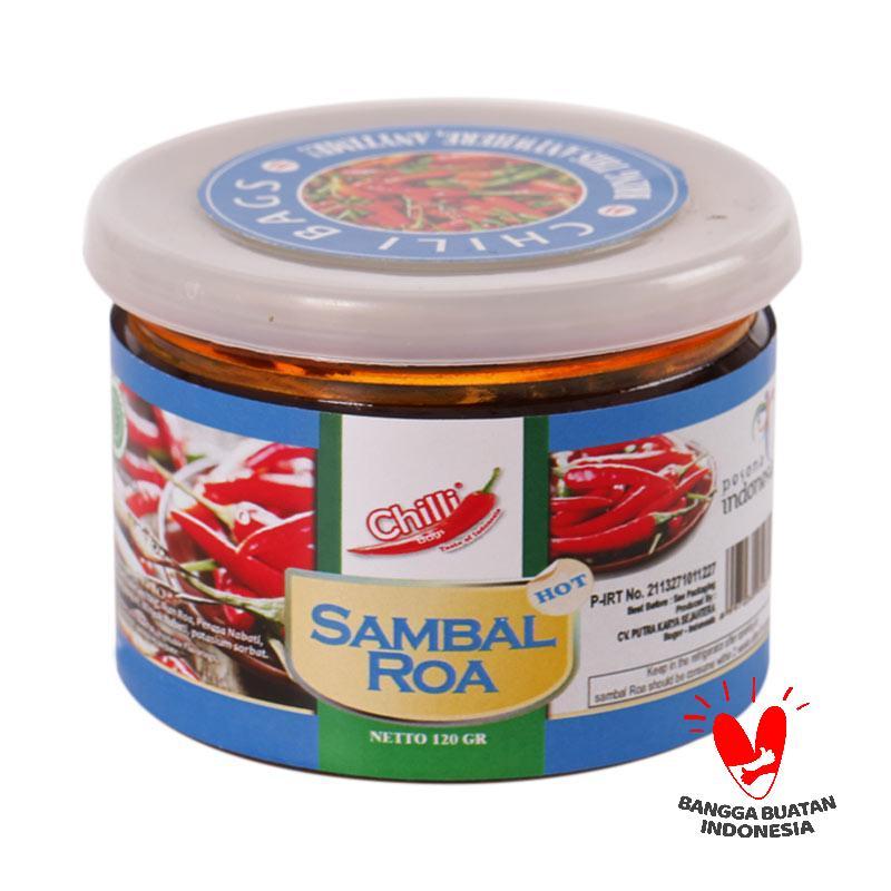 Chillibags Sambal Ikan Roa Brand Chillibags