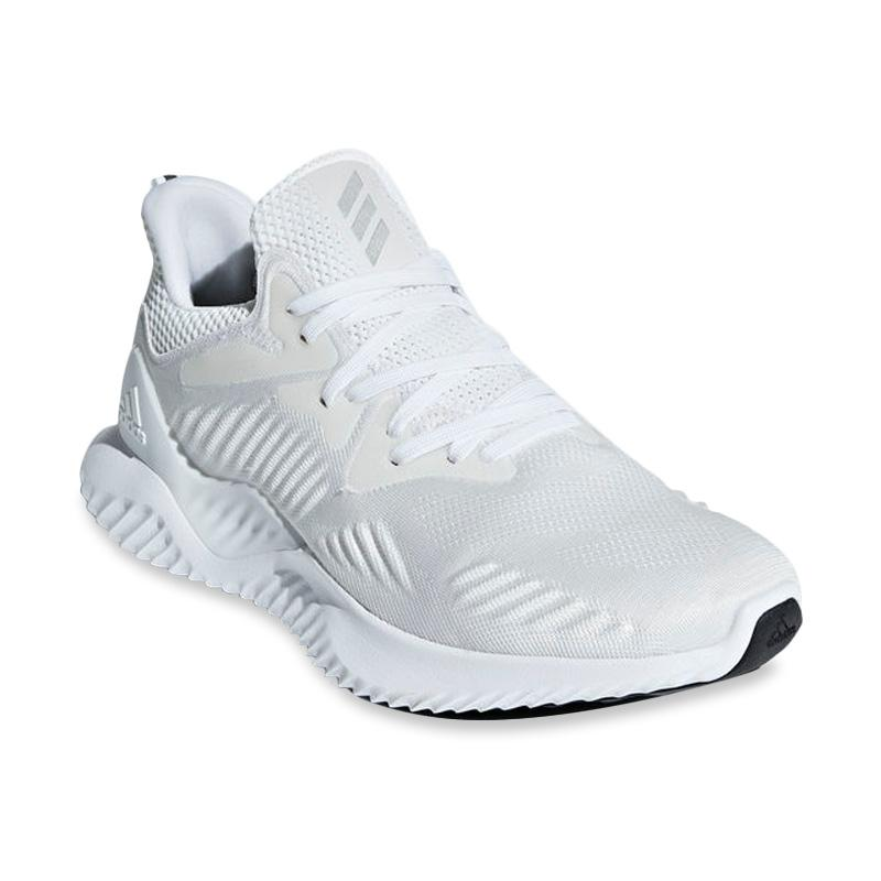 ADIDAS ALFA BOUNCE RUNNING TRAINING FLEX WHITE SHOES MEN/'S BRAND NEW IN BOX