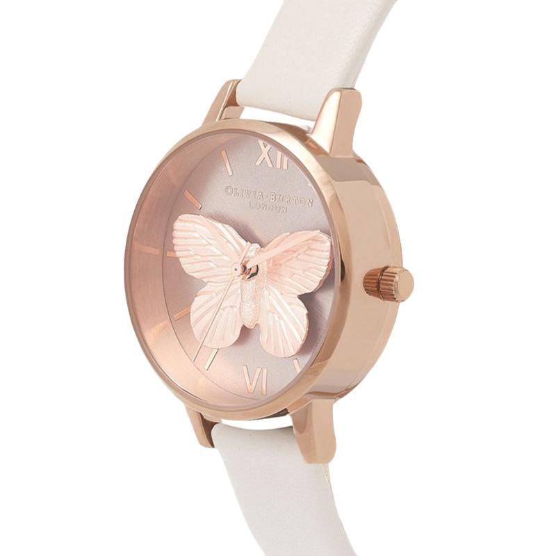 Olivia Burton OB16MB16 3D Butterfly Blush