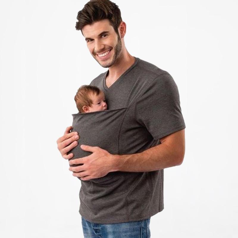 Lalabu Dad Shirt Babywearing
