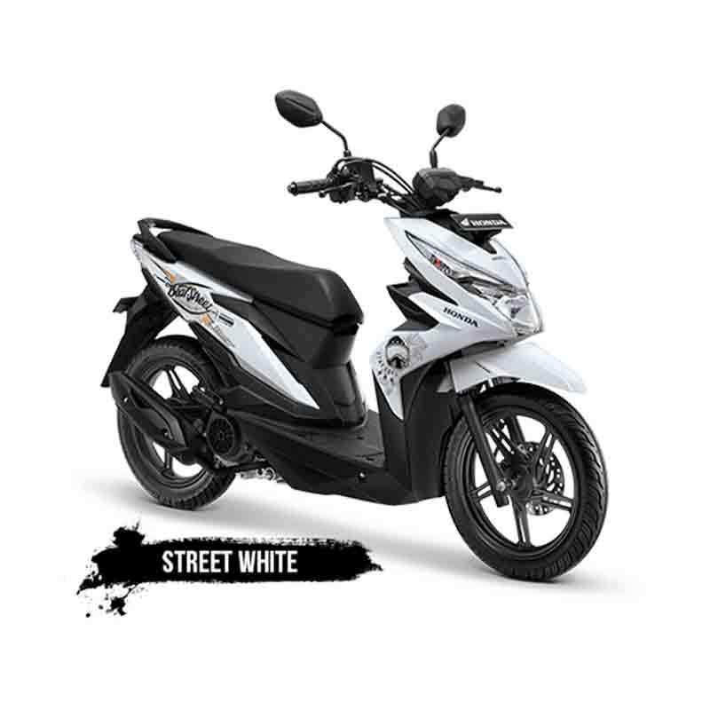 Honda All New BeAT eSP FI Street CBS Sepeda Motor [VIN 2018-OTR Sumatera]