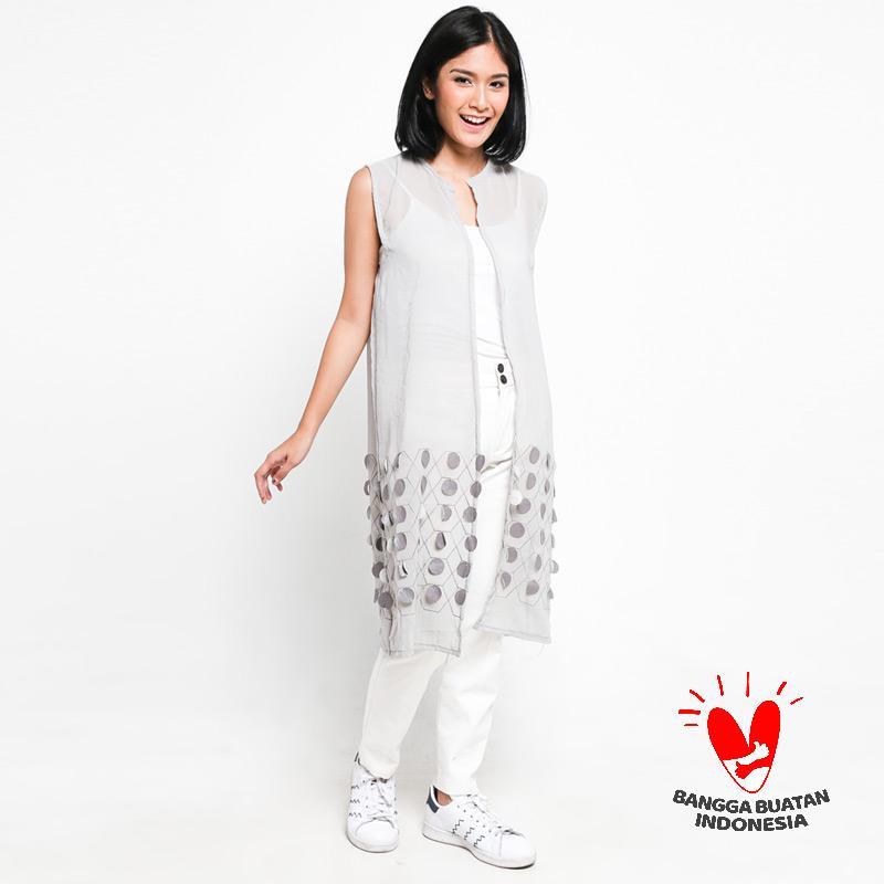 Jual GESYAL Vest Motif Bawah Chiffon Atasan Wanita Terbaru - Harga Promo Juli 2019 | Blibli.com