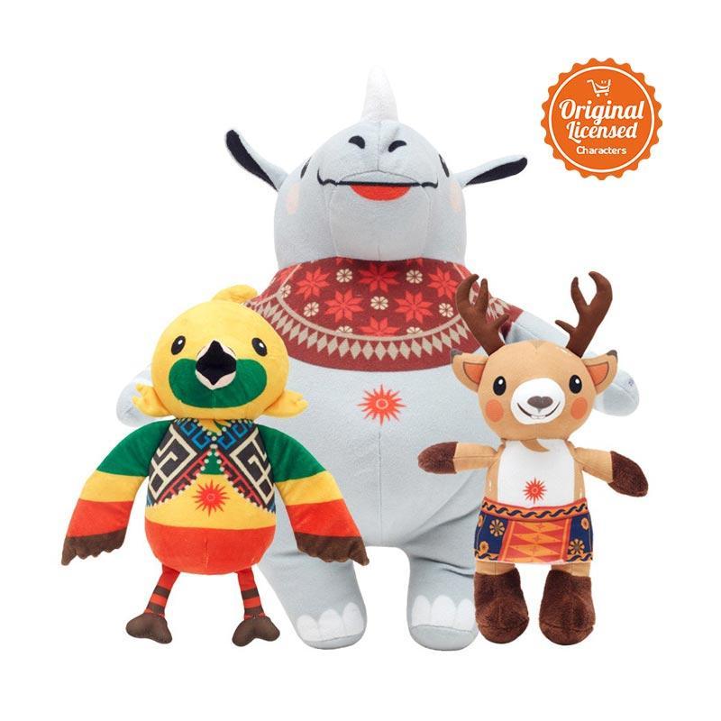 harga Asian Games 2018 Paket D Printing Series Boneka Blibli.com