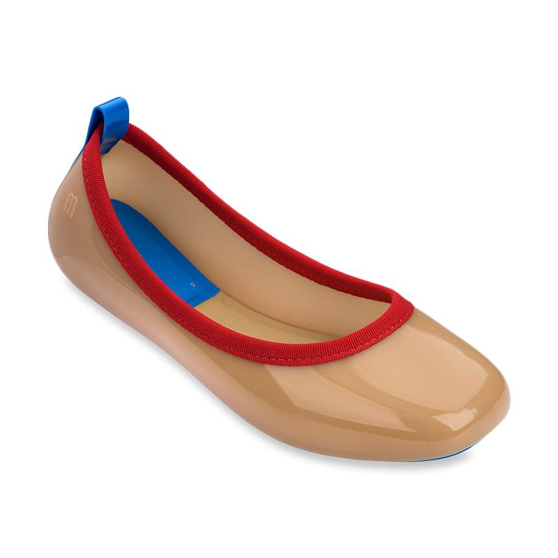 Melissa Lance Ad 32427 Sepatu Wanita Beige Red Blue Brand Melissa 1 ulasan produk Stok Tersedia
