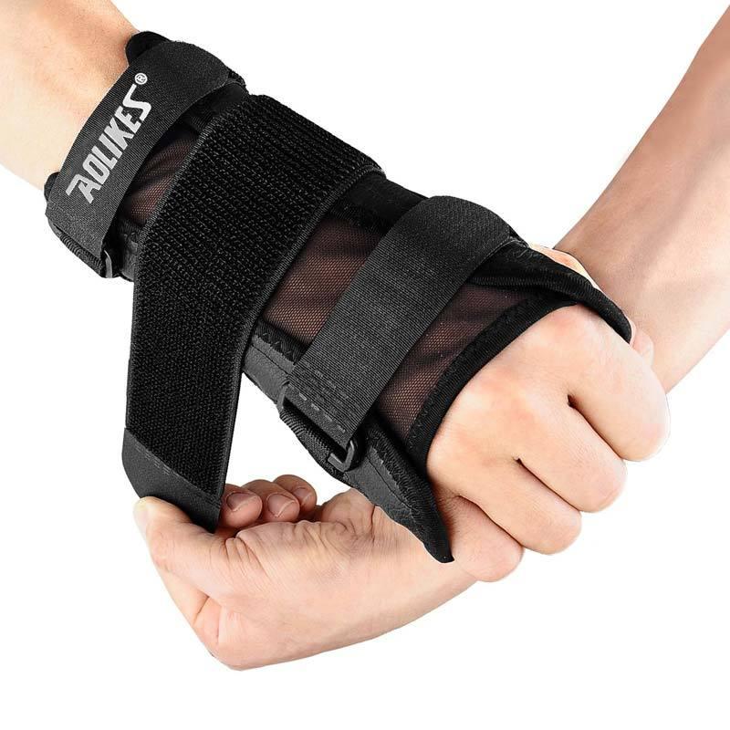 Aolikes Steel Splint Bandage Wrist Brace Support
