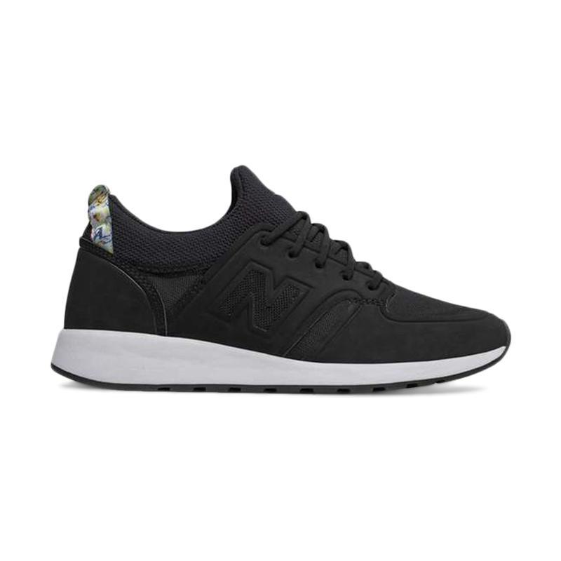 New Balance 420 ReVlite Slip On Lifestyle W ShoesSepatu Fitness Wanita - Black [WRL420SY]